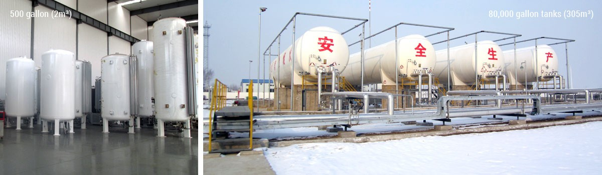 LNG Cryogenic Storage Solutions